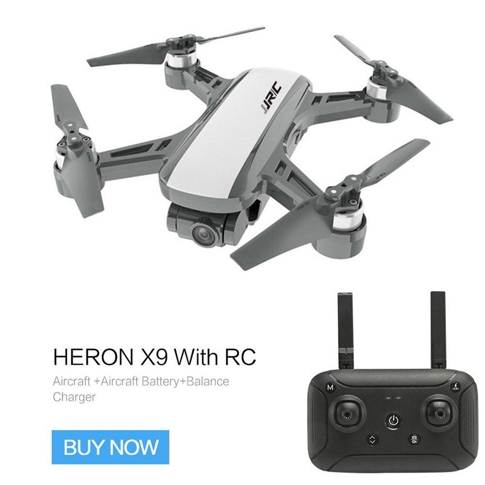 JJRC X9 5G 1080 P WiFi FPV drone rc GPS cardan sans balai Flux Positionnement Maintien D'altitude quadrirotor télécommande hélicoptères