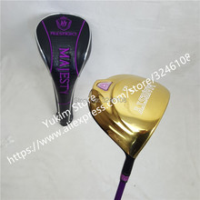 womens Golf clubs Majesty Prestigio 9 Golf driver 11.5 loft Driver clubs with Graphite Golf shaft L flex Free shipping oem quality datang dragon golf driver 917 d2 driver 3 5 fairway woods with tourad tp6 stiff graphite shaft 3pcs golf clubs