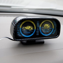 Автомобильный балансировочный инструмент с наклонной подсветкой, уклометр, внедорожник, направляющий шар, автомобильный специальный инструмент с наклоном, автомобильные аксессуары