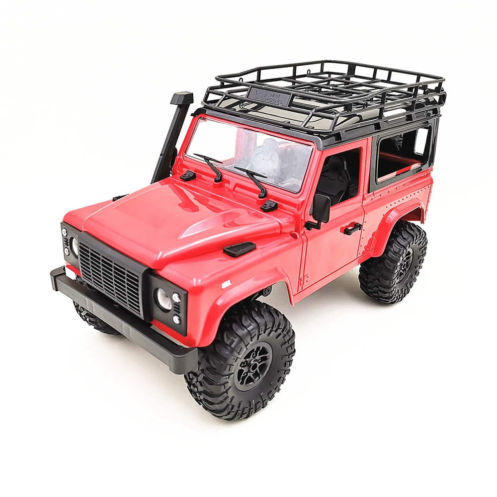 Mn 90 1/12 2.4G 4Wd 15Km/H Rc Car With Front Led Light 2 Body Shell Rock Crawler Truck Rtr Toy Christmas Gift Kids Boys-in RC Cars from Toys & Hobbies    2