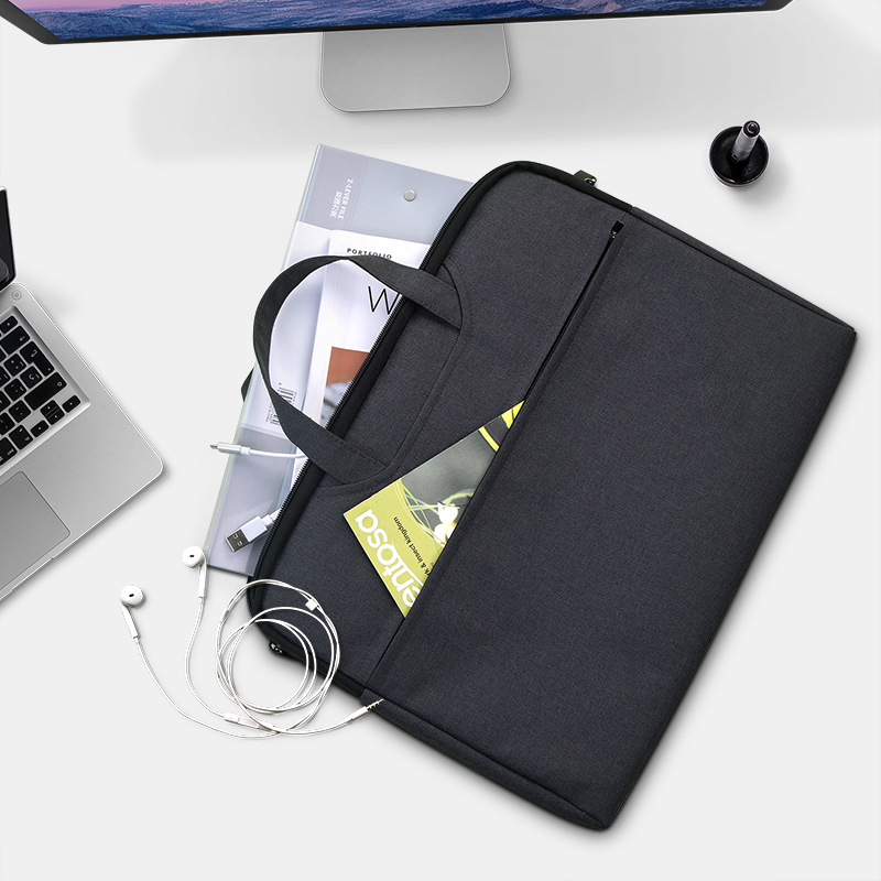Unisex Document Bags Business Briefcase Travel Organizer Pouch Folder Passport Holder Laptop Handbag Trip Notebook Accessories