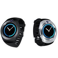 Новые умные часы с WiFi круглый Экран Smart Поддержка вставки карты вызова фотографии памяти сердечного ритма контрольный шагомер
