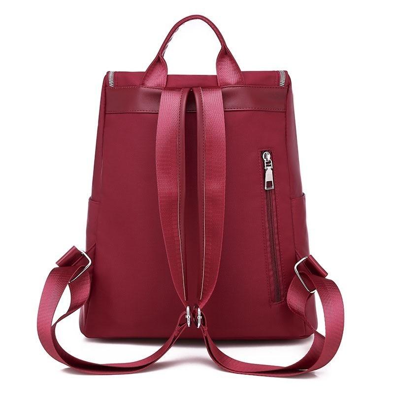 Image 3 - Women Anti Theft Backpack Waterproof Zipper School Bag Backpacks For Teenagers Girls Multifunction Student Backpack RucksackBackpacks   -