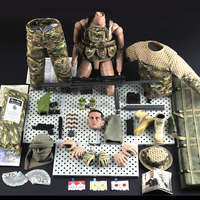 30cm 1:6 disassembled Soldier Military Model Toy Gift with Movable Joint for Children Action Toy Figures military fans