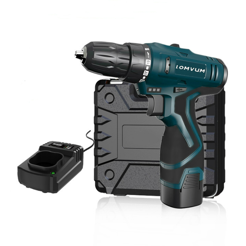 Image 4 - longyun New 12V 16.8V Electric Screwdriver Rechargeable lithium battery Home Diy 25V Cordless screwdriver electric drill driver-in Electric Screwdrivers from Tools