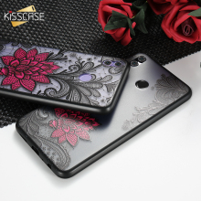 KISSCASE Sexy Case For Xiaomi Redmi Note 4 3 5A Fashion Lace Flower 6 Pro 6A 5 Plus Capinhas Fundas