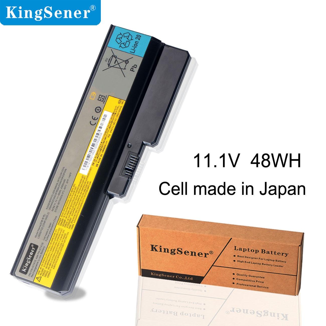KingSener L08S6Y02 batterie d'ordinateur portable Pour Lenovo 3000 G430 G450 G530 G550 N500 Z360 B460 B550 V460 V450 G455 G555 G450M L08L6Y02