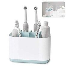 Новый Пластик съемный мульти установлен Зубная щётка подстаканник Toothpaster хранения Организатор стойки Box туалетные принадлежности Ванная комната наборы