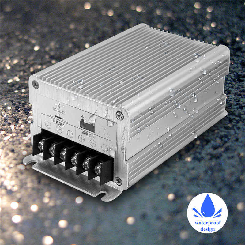 High Efficiency 600W 12V/24V Waterproof Wind Turbines Generator Charge Controller Aluminium Alloy Regulator Outdoor
