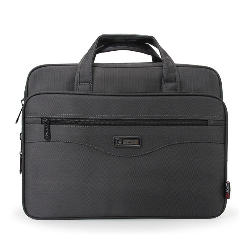 Hommes sacs pour ordinateur portable multifonction mallette étanche sacs à main hommes d'affaires ordinateur épaule travail paquet pour Macbook Air Dell HP - 2