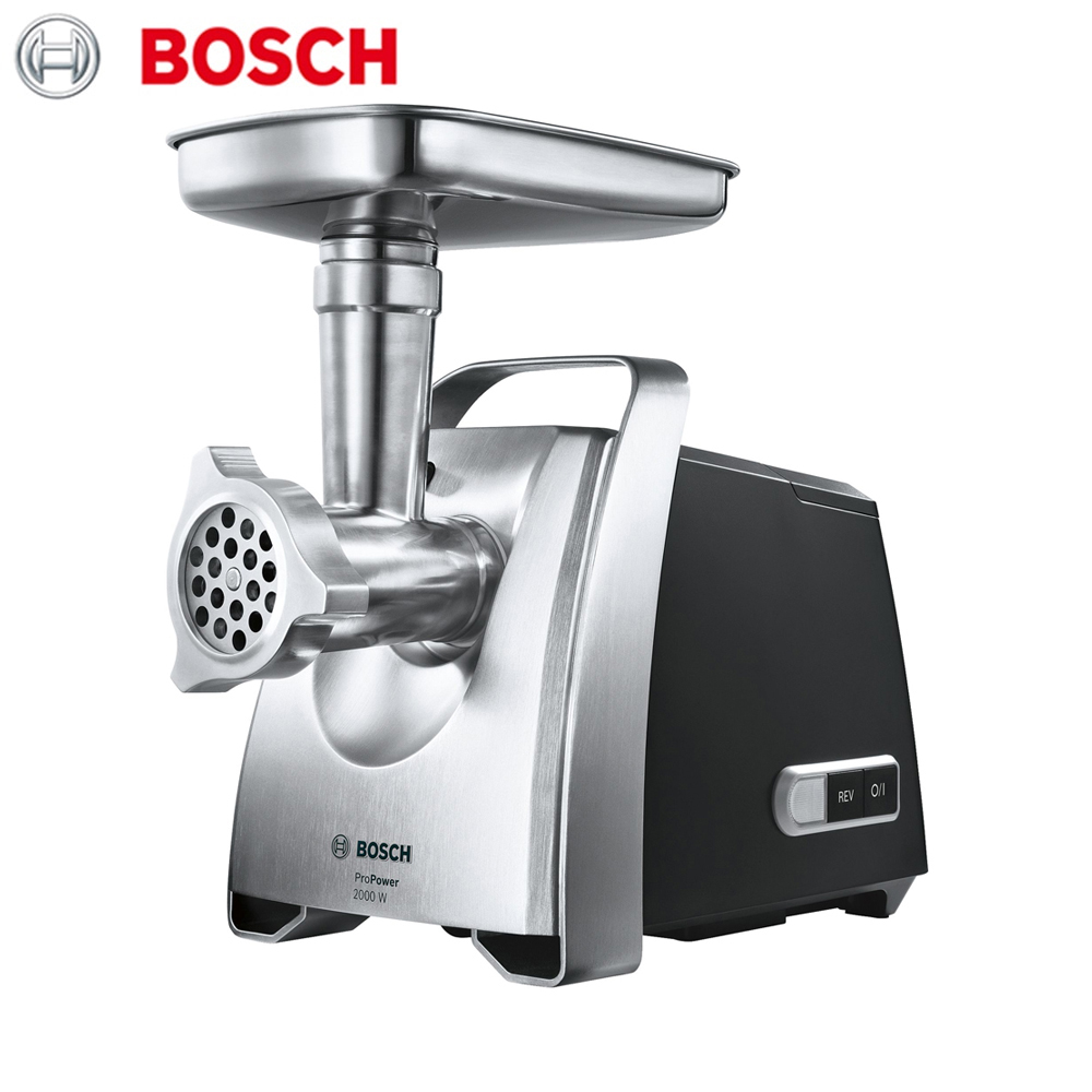 Meat Grinders Bosch MFW68660 home kitchen appliances electric chopper bear portable electric meat grinders 2l 300w 2 gears glass mini blenders 4 blades copper engine meat cutter kitchen appliances