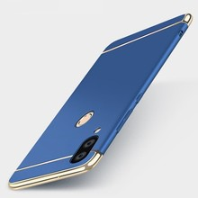 Case For Huawei Nova 3 Cover 3i Luxury Royal Gold Metal Plating TPU Hard Removable in 1 for