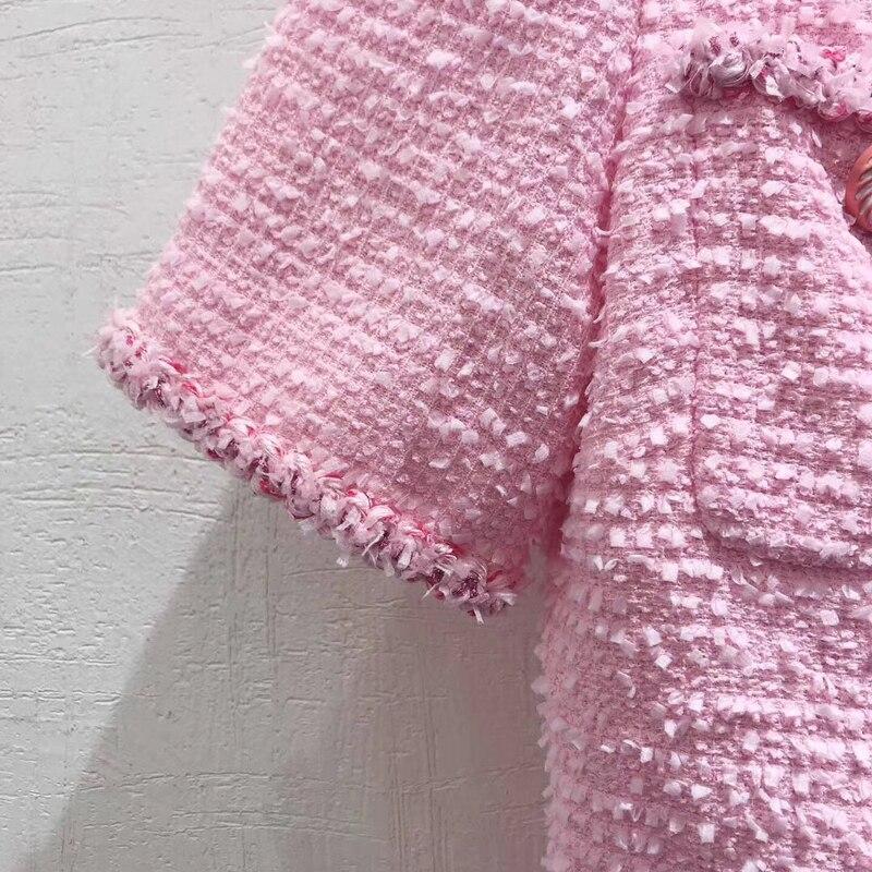 Vestidos de Fiesta rosados 2019 con bolsillos A line Slash neck Off Shoulder Slit islámico Dubai saudí árabe largo elegante vestido - 3