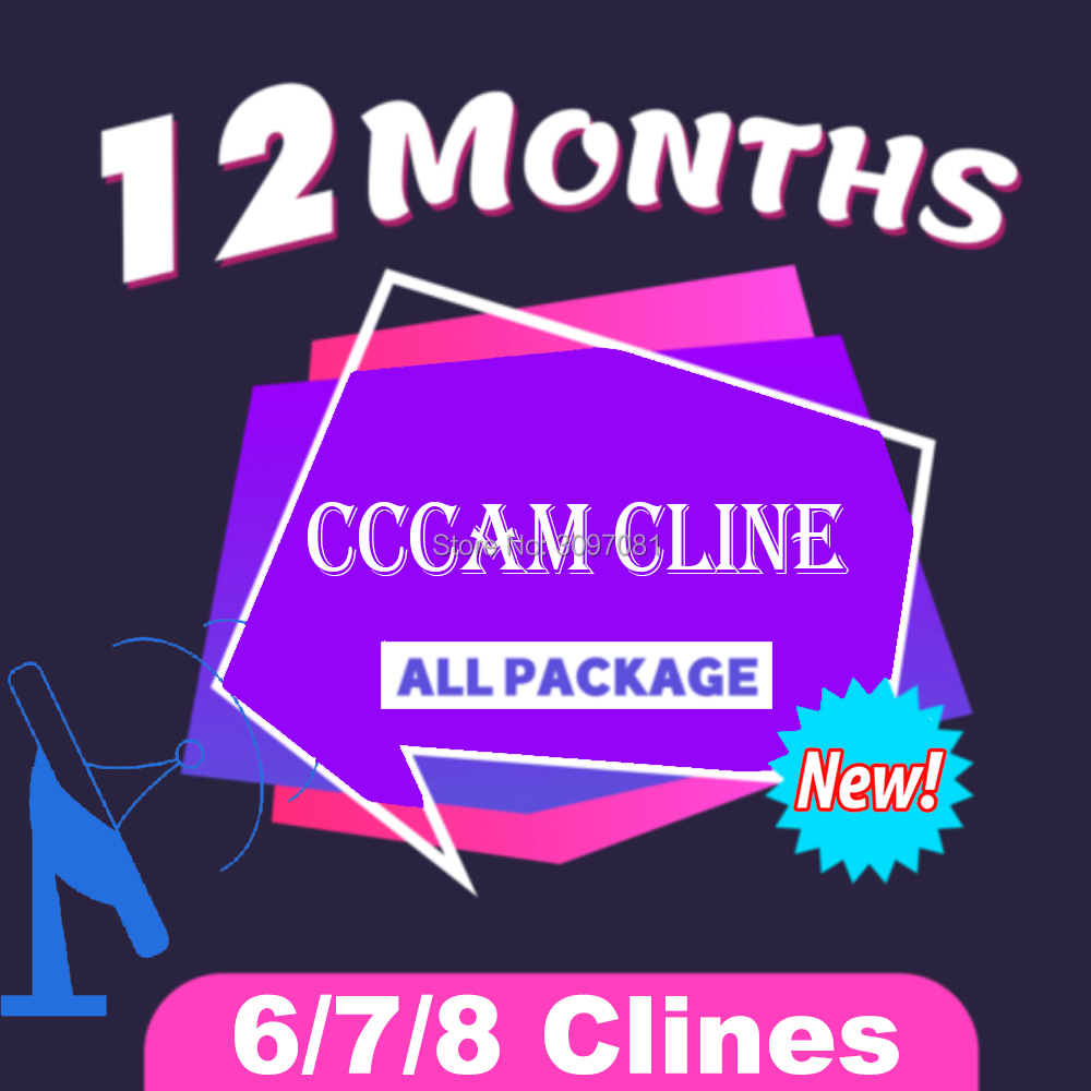 2019 Free panel CCcam Cline for 1 2 Year 6 7 8 Europe Support