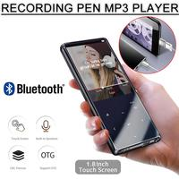M13 Bluetooth MP3 Player With Bluetooth 4.2 And 1.8 Screen Touch Key Hifi Fm Radio Mini Sport MP 3 Music Player Portable Walkman