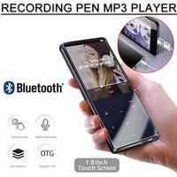 M13 Bluetooth MP3 Player With Bluetooth 4.2 And 1.8 Screen Touch Key Hifi Fm Radio Mini Sport MP 3 Music Player Portable Walkman