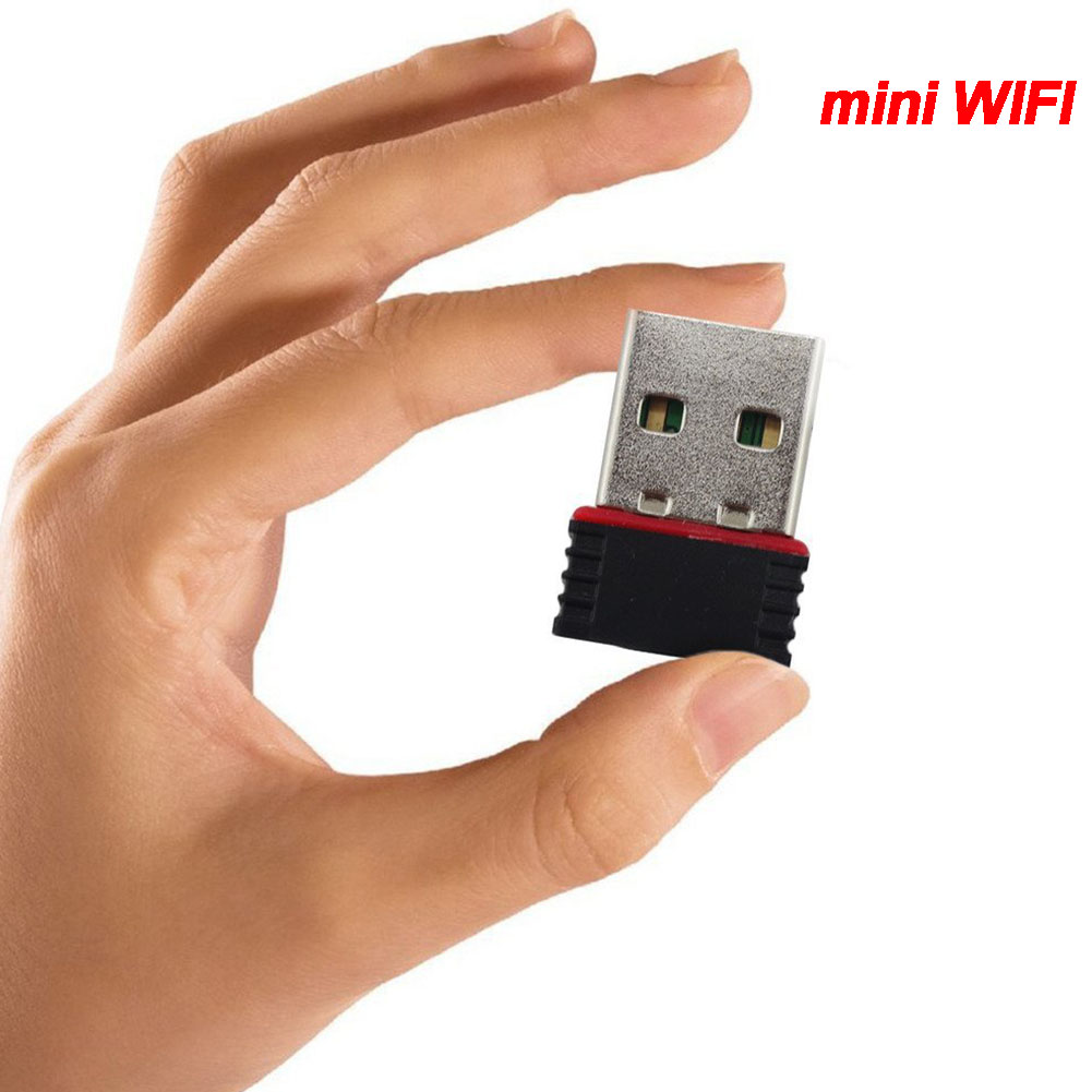 Free Driver Mini USB 2.0 Wifi Adapter Mini LAN Network Card For PC Wireless 150Mbps USB Dongle Receiver