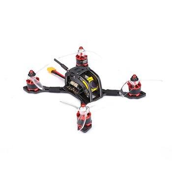 TransTEC iluminación Mini distancia entre ejes de 144MM FPV Racing Quadcopter Drone Kit de marco de fibra de carbono versión y versión PNP accesorio de RC