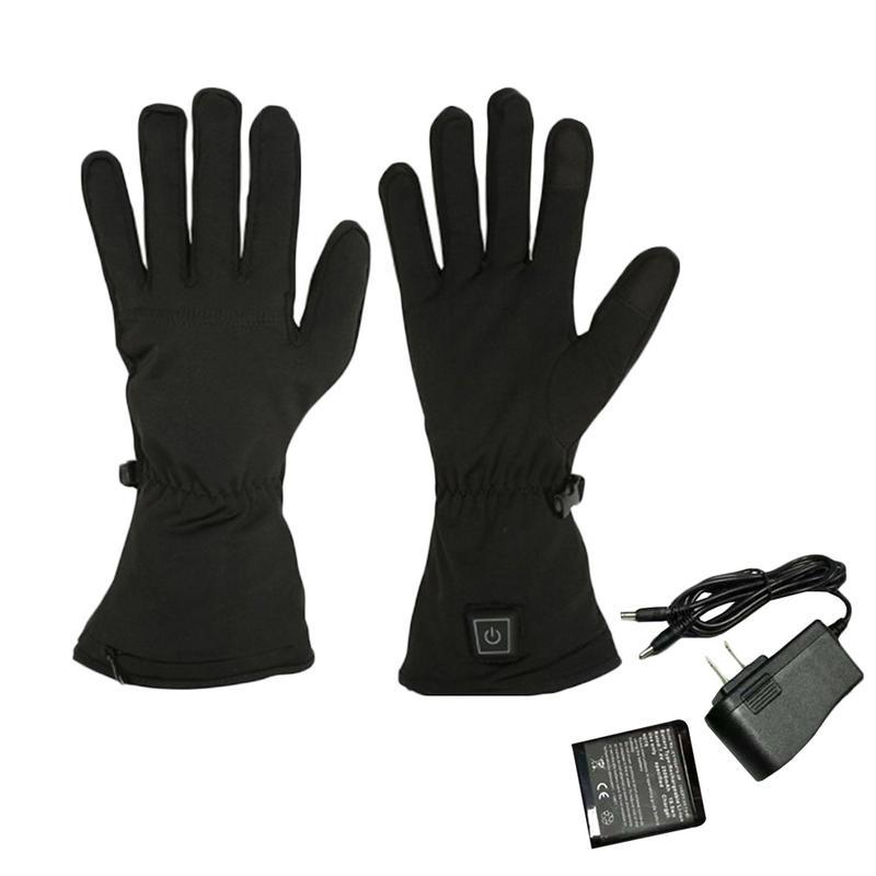 New Winter Warm Battery Heated Gloves Windproof Waterproof -3114