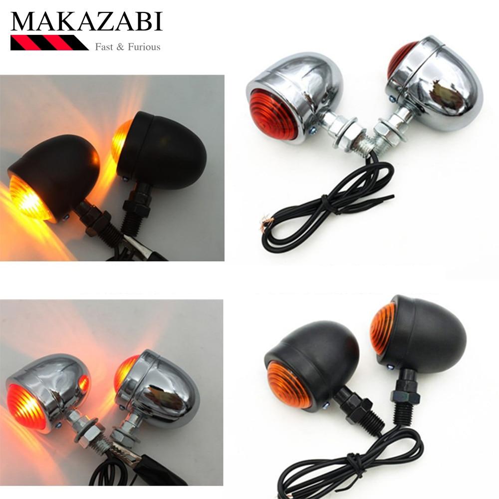 Universal Motorcycle Turn Signal Light Indicators Lamp For KAWASAKI Ninja Zx-10r For HONDA Steed Cb 500f Cbf 1000f Xr 250 Etc.