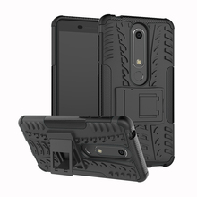 Case For Nokia X5 X6 Cover PC TPU 2 In One Hybrid Case Nokia 6 2018 8 5 3 2 1 3.1 5.1 6.1 Plus Protective Housing Shell недорого