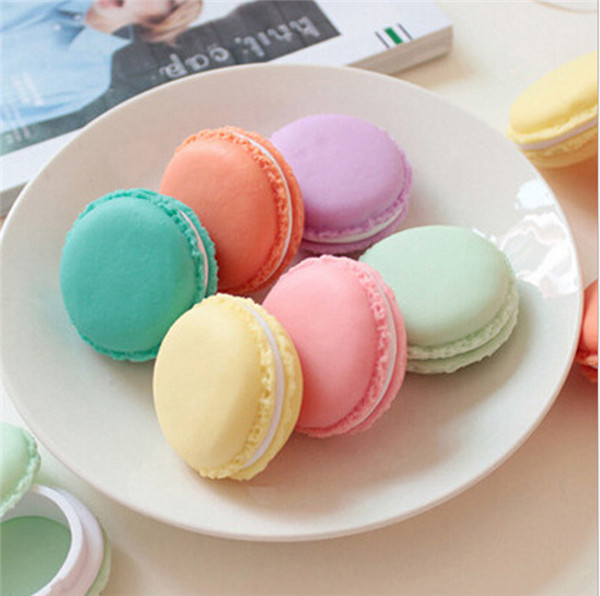 1000 Pcs Cute Candy Stationery Storage Box Mini Macaron Case For Clips Eraser Jewelry Organizer Zakka Table Decoration
