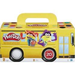 Набор пластилина HASBRO Play-Doh, 20 баночек