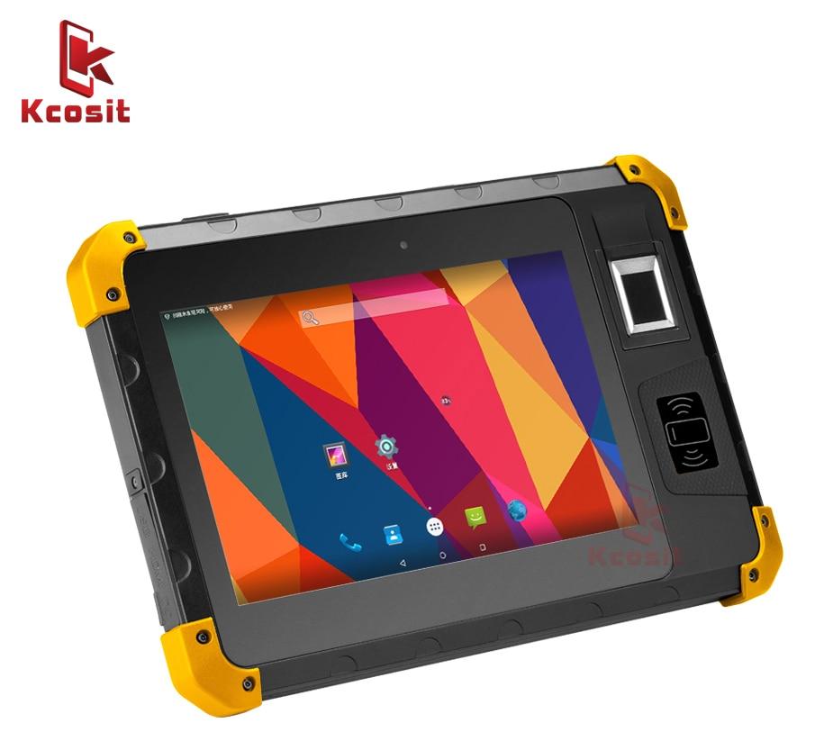 Original K805 Industrial Waterproof Rugged Tablet Shockproof Fingerprint Reader 8