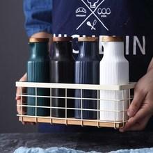 Домашняя кухня хранения и организации посуда керамическая приправа масленка цветной глазури соевые бутылки для уксуса емкости для масла для вкуса