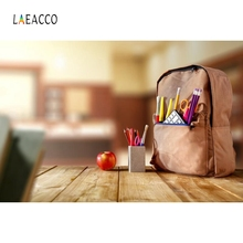 Laeacco Bag Wood Board Book Backdrop Photography Backgrounds Customized Photographic Backdrops For Photo Studio hello daddy board book