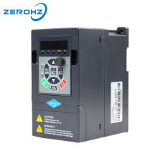 Frequency Converter For Motor 380V 0.75KW/1.5KW/2.2KW 3 Phase Input And Three Output 50hz/60hz AC Drive VFD Frequency Inverter vfd inverter fr d720 3 7k fr d700 input 3 ph 220v output 3 ph 200 240v 16 5a 3 7kw 0 2 400hz with keypad new