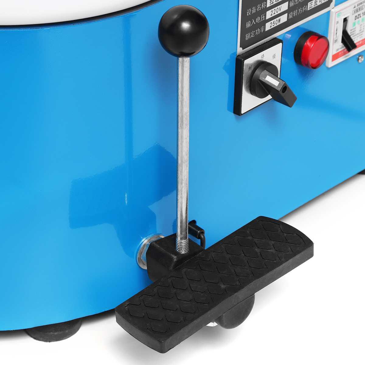 250 W 220 V 25 CM poterie électrique roue Machine céramique poterie formant la Machine argile pour travaux pratiques outil pour barre de poterie - 4