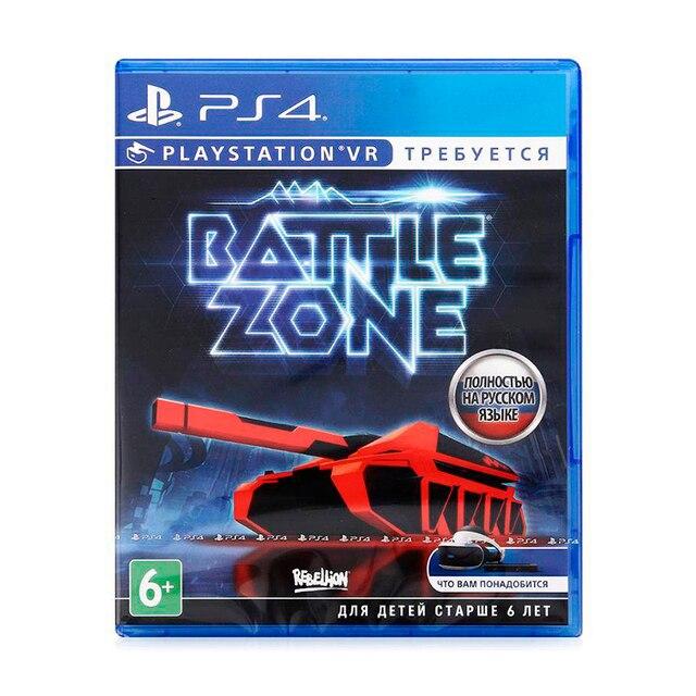 Игра для Sony PlayStation 4 Battlezone (только для VR), русская версия