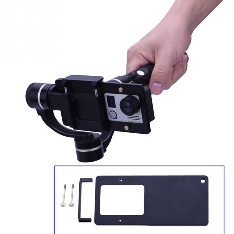 Adapter For GoPro 3+/4 Photography Accessories Handheld Mobile Phone PTZ Gimbal