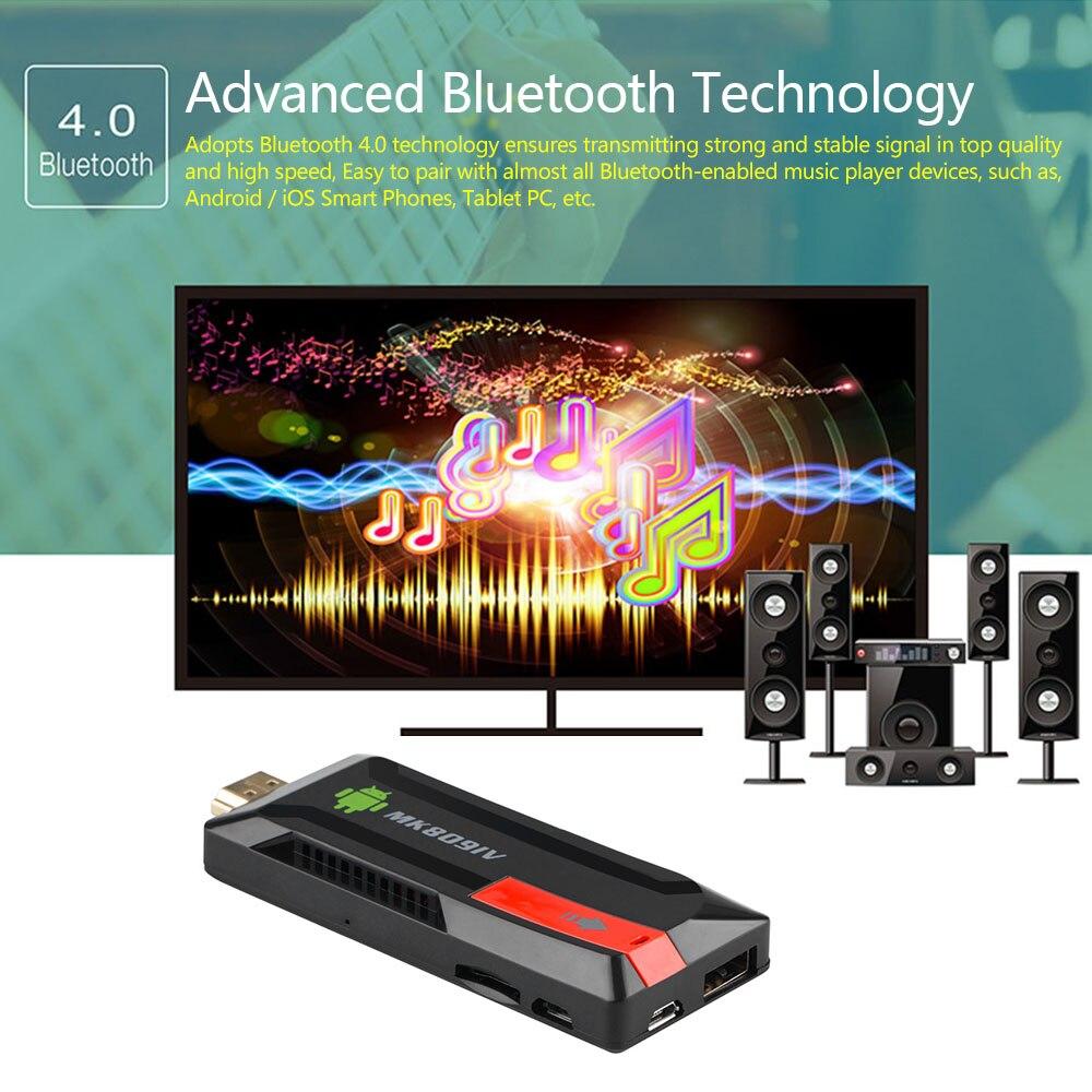 Le plus récent 4K Tv bâton Doogle HDMI 3D MK809 IV Android 7.1 Tv Mini PC RK3229 Quad Core 8GB 16GB Smart Miracast Wifi lecteur multimédia