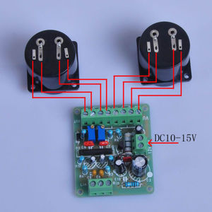 Image 2 - DYKB 2pcs Panel VU Meter Header Warm Back Light Recording & DB Audio Level Power Amplifier Indicator + Driver Board