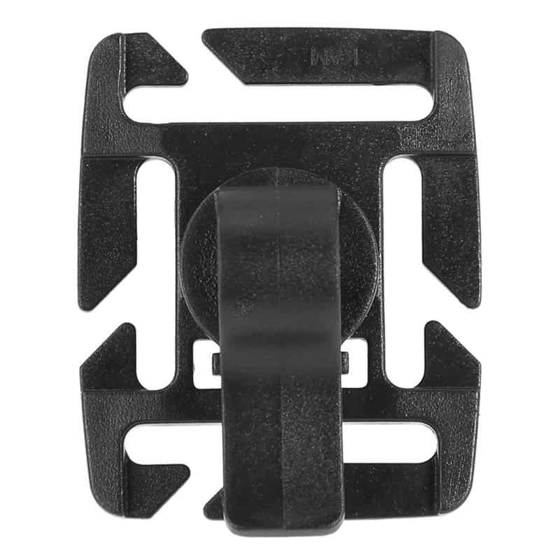 6cdd75b40b9 Outdoor Drinking Tube Plastic Clip Rotatable Molle Hydration Straw Tube  Hose Webbing Clip for Water Pack