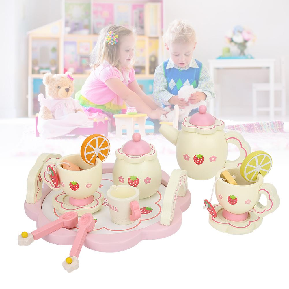 GemäßIgt Simulation Mini Küche Geschirr Nachmittag Tee Simulierten Dessert Station Pretend Spielen Spielzeug Für Kinder Kinder Weitere Rabatte üBerraschungen