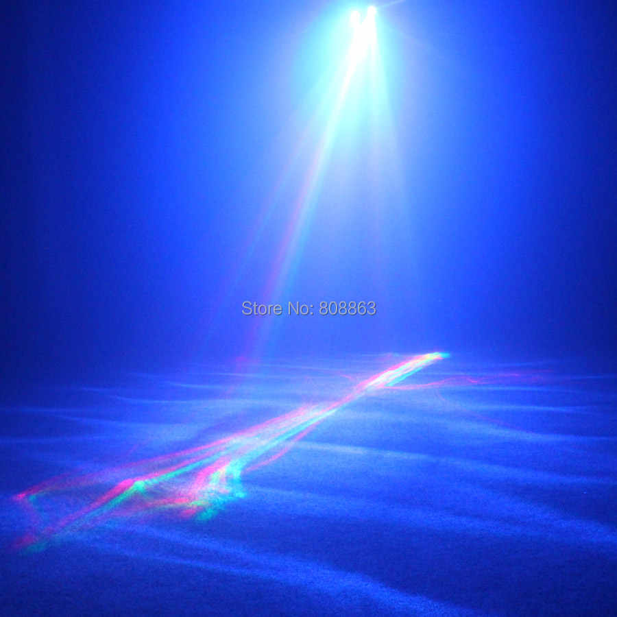 ESHINY R & G Laser Muster Aurora Wasser Galaxy Sky Wirkung Voll Farbe RGB LED DJ Party Disco Kaffee Shop weihnachten Bar Dance Licht N8T34