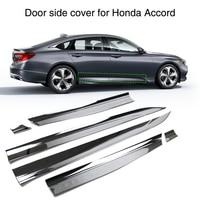 For Honda Accord 2018 2019 Car Body ABS Chrome Door Side Cover Molding Trim Strip Exterior Guard 6Pcs