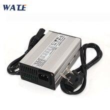 Cargador de batería LiFePO4 de 43,8 V y 3A, cargador inteligente usado para 12S, 36V, 12AH, 15AH, 20AH, LiFePO4