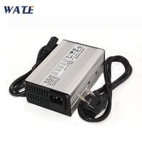Carregador de bateria de 43.8 V 3A LiFePO4 36 V 3A carregador inteligente Usado para 36 12 S V 12AH 15AH 20AH liFePO4 carregador de bateria
