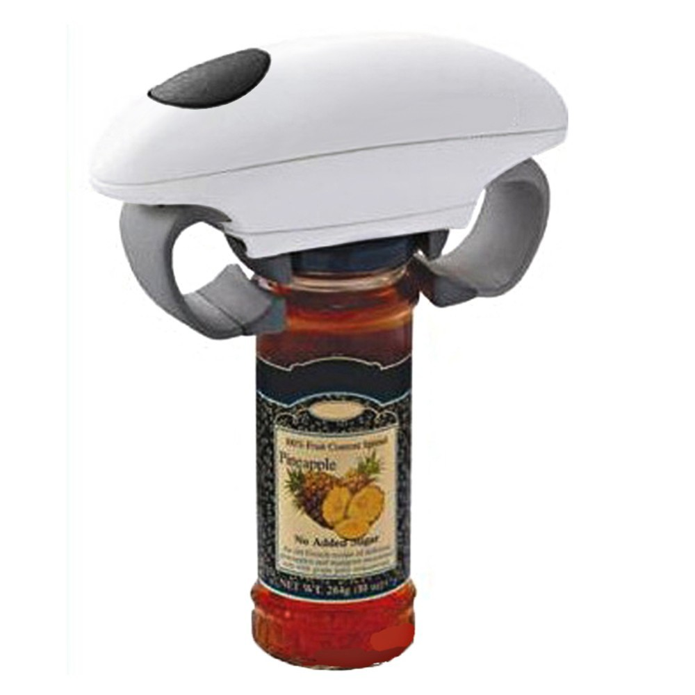 automatic jar and tin opener and electric can and bottle opener kitchen gadget