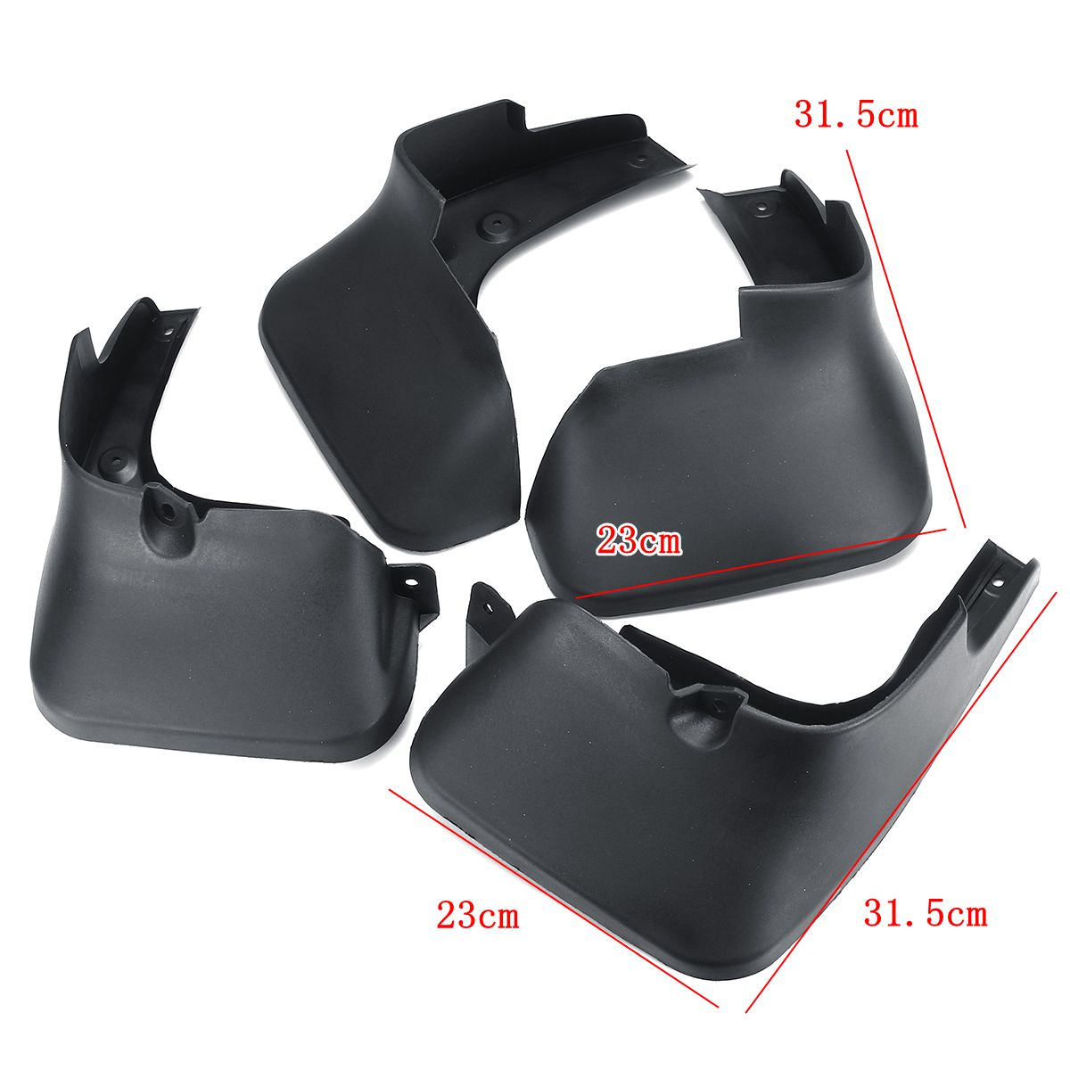 Image 5 - Car Mud Flaps For LEXUS RX RX270 RX300 RX350 RX450H 2010 2015 Splash Guards Mudflaps Mudguards Accessories-in Mudguards from Automobiles & Motorcycles