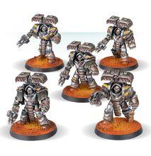 Terminatory oblężenie wojownicy tyrantów żelazo
