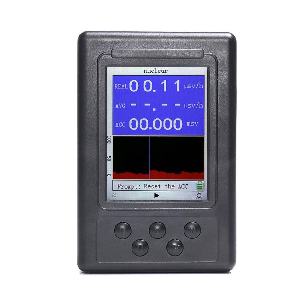 1Pcs Display Screen Radiation Dosimeter Geiger Counters Radiation Detector Dosimeters Marble Tester1Pcs Display Screen Radiation Dosimeter Geiger Counters Radiation Detector Dosimeters Marble Tester