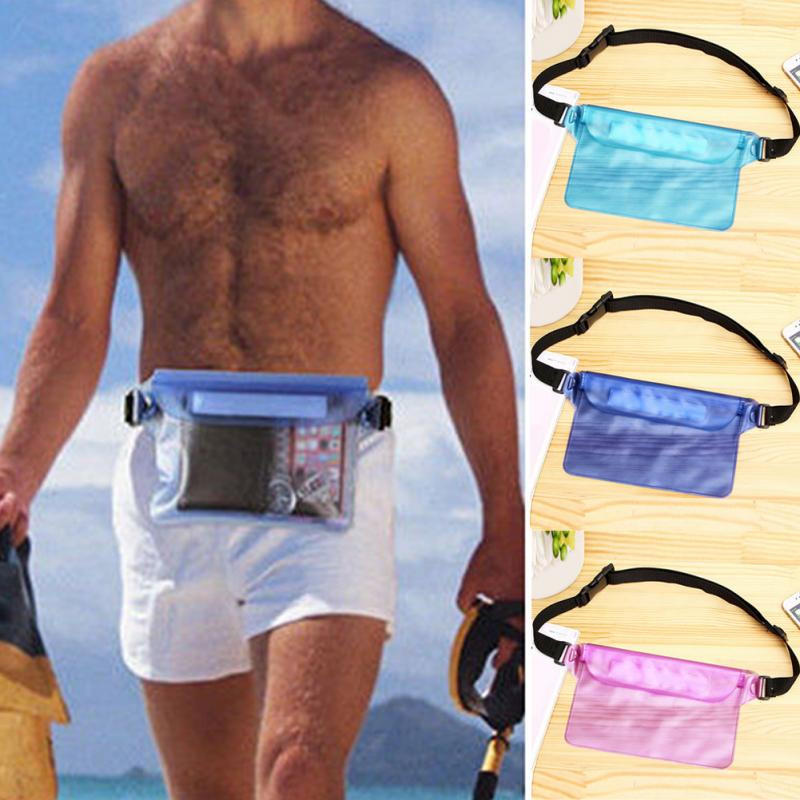 New Waterproof PVC Ski Drift Diving Swimming Bag Underwater Dry Shoulder Waist Pack Bag Pouch for iphone 6 7 case cover/camera~
