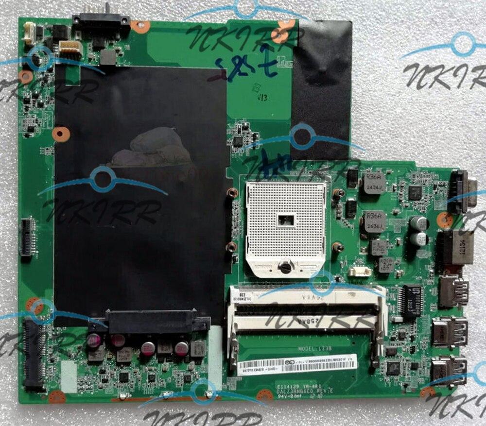 100% working   High quality DALZ3BMB6E0 REV:E FRU:90000919 DDR3 Socket FS1 MotherBoard for Ideapad Z585100% working   High quality DALZ3BMB6E0 REV:E FRU:90000919 DDR3 Socket FS1 MotherBoard for Ideapad Z585