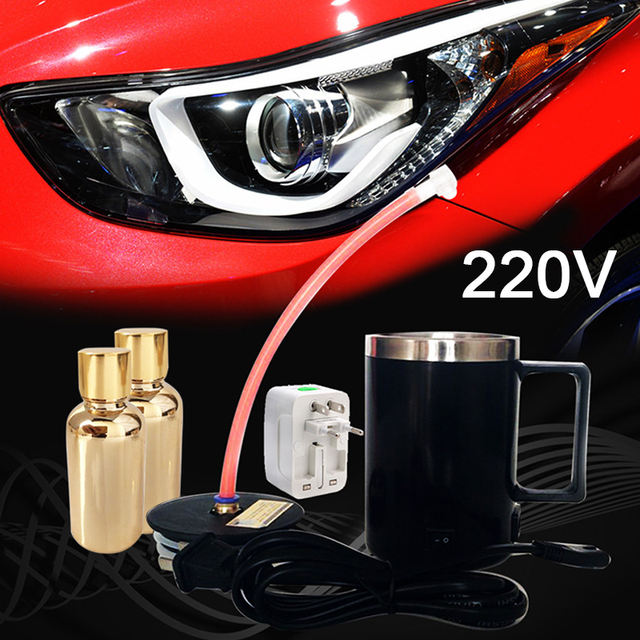 3rd Generation 220v Car Headlight Refurbished Electrolytic Atomized