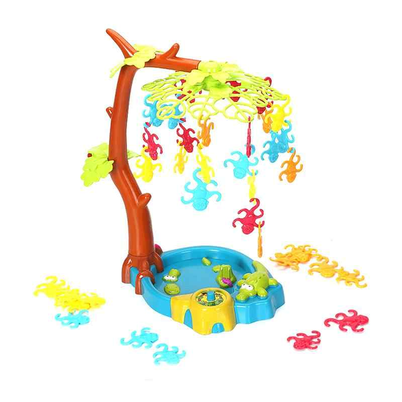 Kids Board Game Balance Funny Monkey Swing Tree Hang Monkey Toys Party Games Educational Toys for Toddler Interaction Children